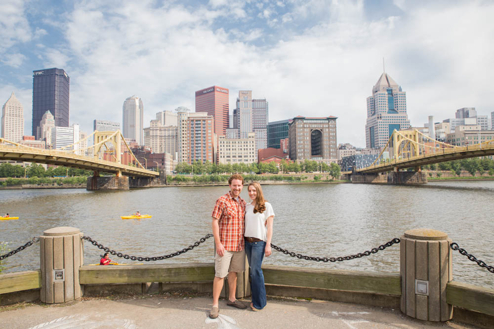 creative, modern, and vibrant pittsburgh wedding photographer