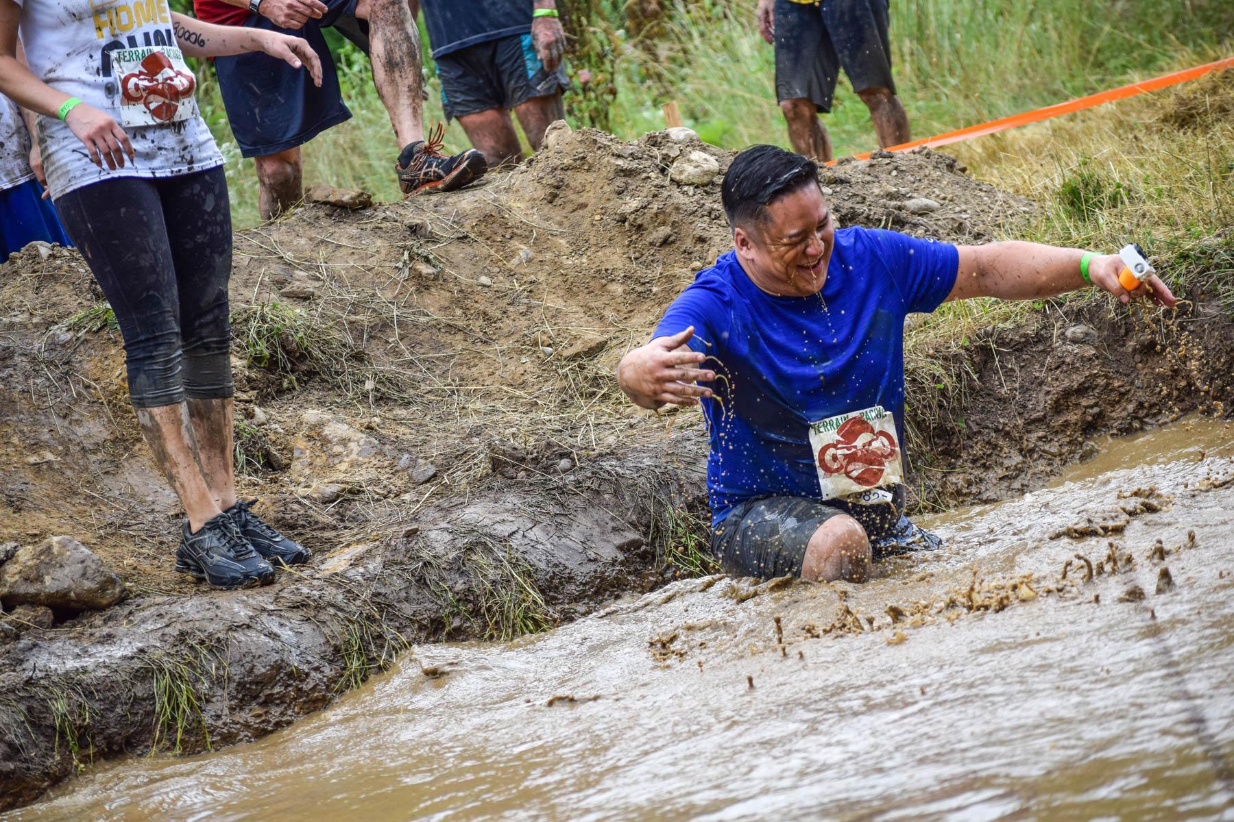 Terrain Racing's mud run!