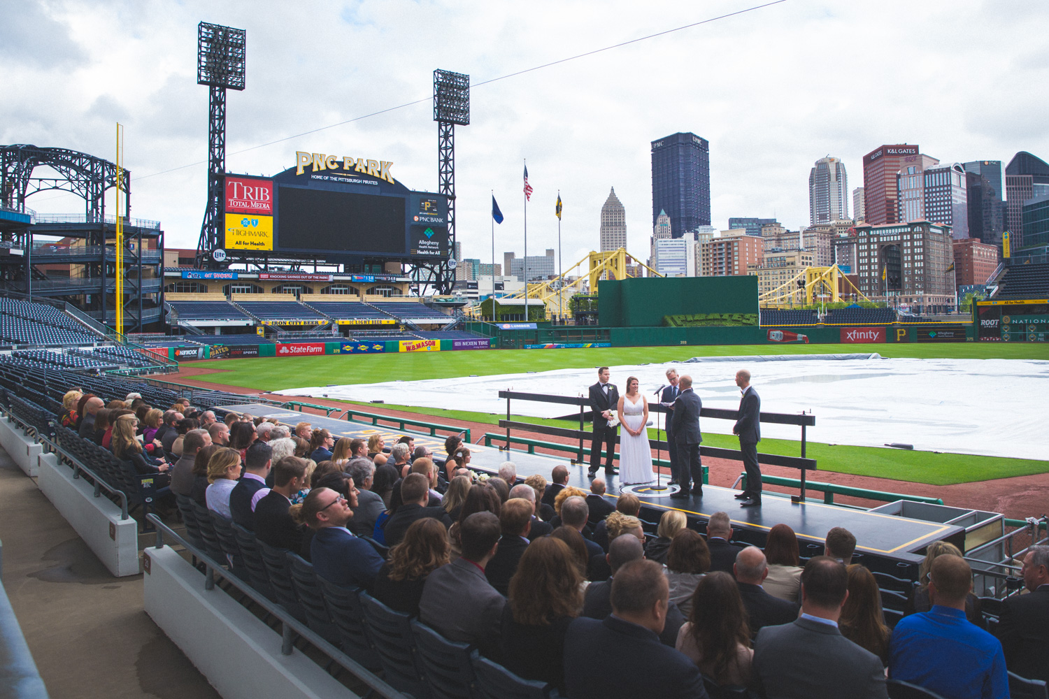 Wedding At Pnc Park Convention Center Downtown Pittsburgh